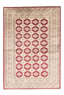 Pakistan Teppich - 185 x 133 cm - rot