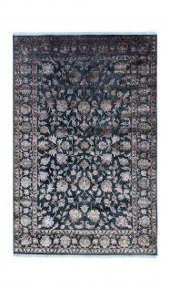 Designer Teppich - 305 x 197 cm - blau