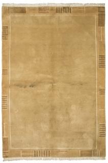 Nepal Teppich - 242 x 166 cm - braun