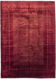 Gabbeh Teppich - Loribaft - 345 x 246 cm - rot