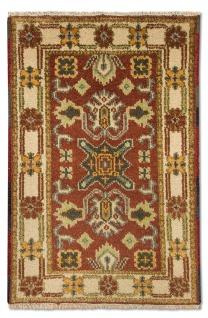 Orientteppich - 93 x 64 cm - rost