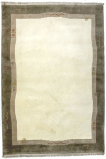 Nepal Teppich - 200 x 142 cm - beige