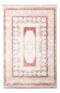 Orientalischer Webteppich Acryl Blumenmuster Designer Flauschig Weich Fusselfrei