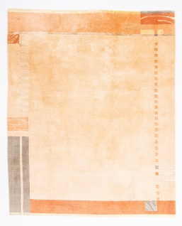 Nepal Teppich - 249 x 202 cm - orange
