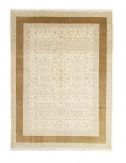 Designer Teppich - 357 x 251 cm - beige