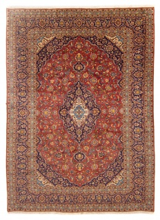 Perserteppich - Keshan - 340 x 248 cm - rost