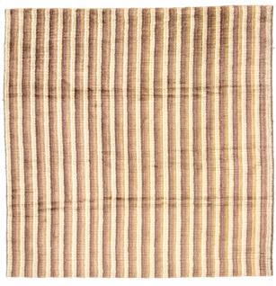 Viskose Teppich quadratisch - 200 x 200 cm - mehrfarbig