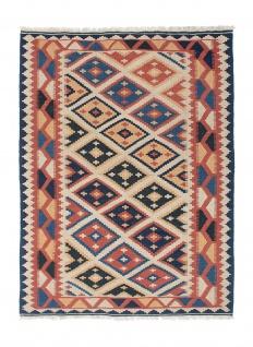 Morgenland Kelim Teppich - Oriental - 174 x 124 cm - mehrfarbig