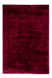 Teppich Morgenland Viskose Kurzflor Einfarbig Uni Sehr Weich Glänzend Schimmernd