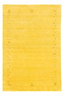 Teppich Morgenland Gabbeh Uni Einfarbig Wolle Natur Handarbeit Wohnzimmer Weich