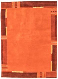 Nepal Teppich - 239 x 173 cm - orange