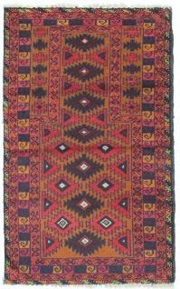 Belutsch Teppich - 146 x 86 cm - mehrfarbig