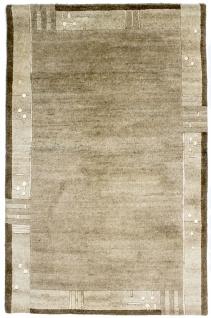 Nepal Teppich - 187 x 120 cm - natur