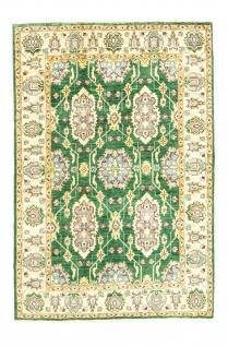 Ziegler Teppich - 180 x 121 cm - grün