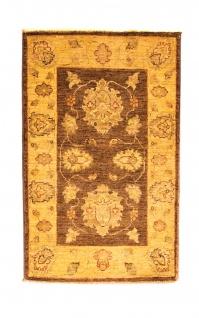 Ziegler Teppich - 91 x 58 cm - braun