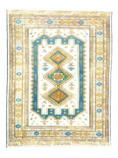 Turkaman Teppich - 173 x 132 cm - beige
