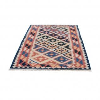 Morgenland Kelim Teppich - Oriental - 174 x 124 cm - mehrfarbig - Vorschau 5
