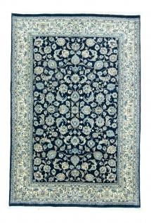 Perserteppich - Keshan - 292 x 198 cm - blau