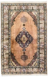 Seidenteppich - Kayseri - 134 x 89 cm - rost