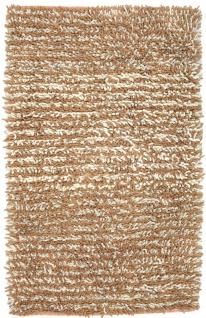 Hochflor Teppich - 188 x 101 cm - mehrfarbig