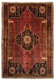 Perserteppich - Nomadic - 253 x 161 cm - rost