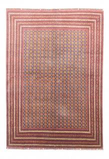 Afghan Teppich - Buchara - 348 x 254 cm - blau