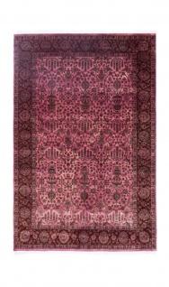 Designer Teppich - 300 x 194 cm - rosa
