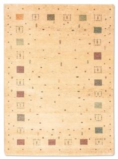 Gabbeh Teppich - Loribaft - 200 x 146 cm - beige