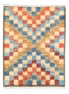 Berber Teppich - 206 x 143 cm - bunt