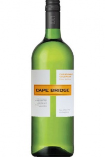 Cape Bridge Blanc Chardonnay Colombar 2017 Weißwein trocken 1.0 L