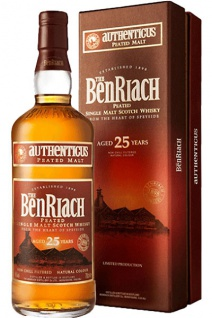 Benriach 25 Jahre Authenticus Peated Malt Whisky 0.7 L