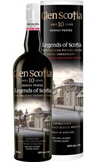 Glen Scotia 10 Jahre Heavily Peated Whisky 0.7 L Legends of Scotia