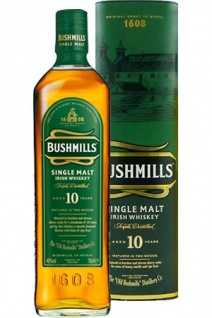 Bushmills 10 Jahre Whiskey Matured in Two Woods 0.7 L
