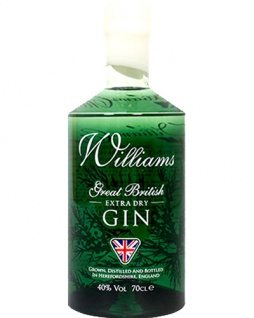 Williams Great British Extra Dry Gin 0.7 L