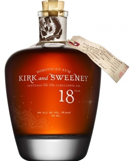 Kirk and Sweeney 18 Jahre Dominican Rum 0.7 L