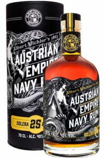 Austrian Empire Navy Rum Solera 25 Blended 0.7 L