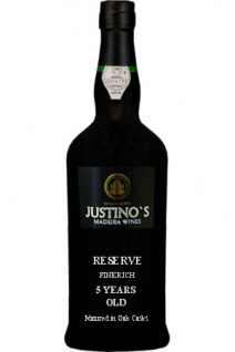 Justino's Henriques Reserve 5 Jahre Fine Rich Sweet Madeira 0.75 L