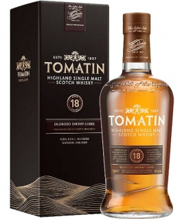 Tomatin 18 Jahre 0.7 L Finished in Oloroso Sherry Casks