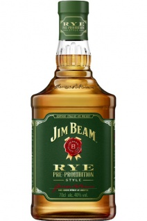 Jim Beam Rye Whiskey 0.7 L Pre-Prohibition Style