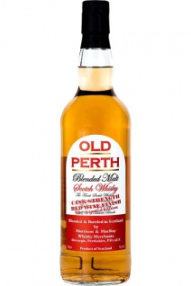 Old Perth Blended Malt Scotch Whisky Cask Strength 0.7 L Red Wine Finish N° 2 Limited Edition
