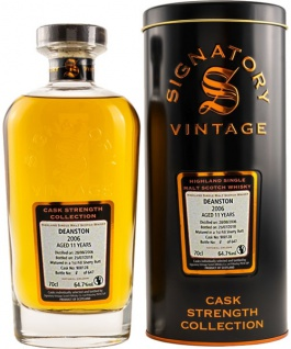 Deanston 11 Jahre 2006 Signatory Whisky 0.7 L Cask Strength Collection Cask 900128