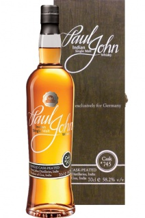 Paul John Peated Single Cask 745 Whisky 0.7 L Selected exclusively for Germany
