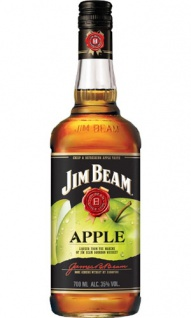 Jim Beam Apple Likör mit Whiskey & Crisp Juicy Apples 0.7 L
