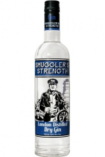 Smuggler's Strength Gin 0.7 L London Distilled Dry Gin