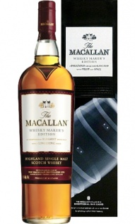 Macallan Whisky Maker's Edition Sherry Oak Pillar No. 4 Exceptional Casks X-rays by Nick Veasey 0.7 L