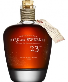 Kirk and Sweeney 23 Jahre Dominican Rum 0.7 L