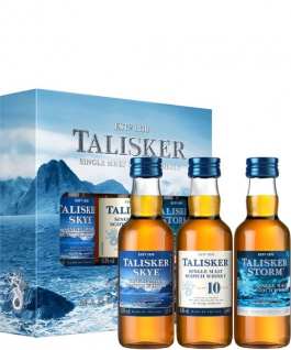 Talisker Collection Whisky Multi Pack 3x 0.05 L Storm. Skye & 10 Jahre