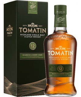 Tomatin 12 Jahre Whisky 0.7 L