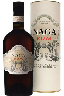 Naga Rum Double Cask Aged Rum of Indonesia 0.7 L