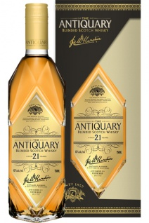 The Antiquary 21 Jahre Blended Scotch Whisky 0.7 L